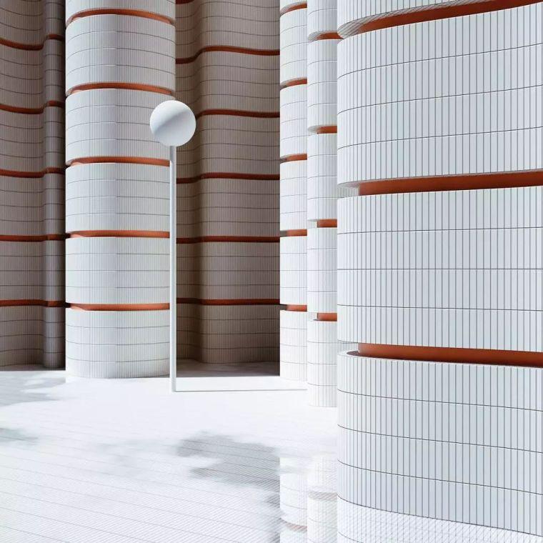 建筑设计中的点线面_17