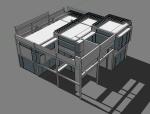 建筑设计大师彼得_艾森曼2号住宅(共两套)
