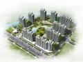 [福建]高层简约欧式风格坡屋顶造型住宅建筑设计方案文本