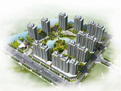 [福建]高層簡約歐式風格坡屋頂造型住宅建筑設計方案文本