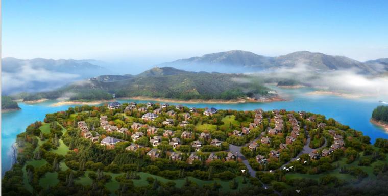 [山西]多层中式风格旅游度假型山地公寓建筑设计方案文本