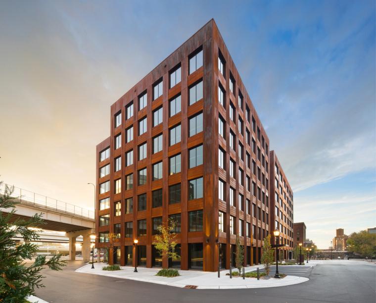 美国T3新型办公楼
