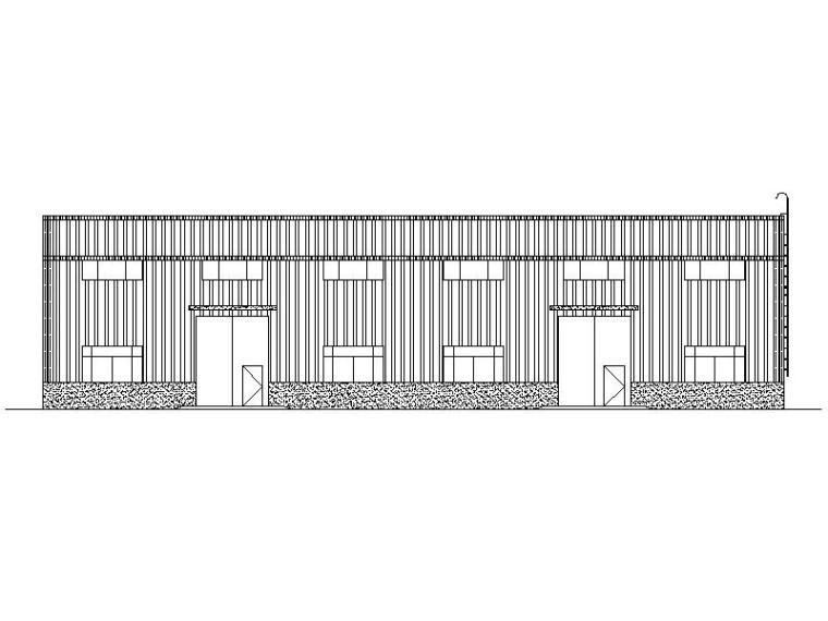 [宁夏]现代风格镇仓储建筑施工图(全专业图纸)