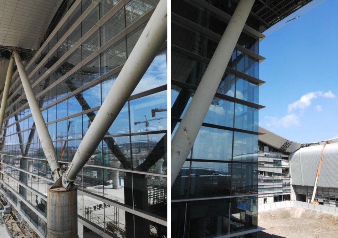 漫谈金属屋面的建筑设计应用(1)——广州新白云国际机场航站楼_35