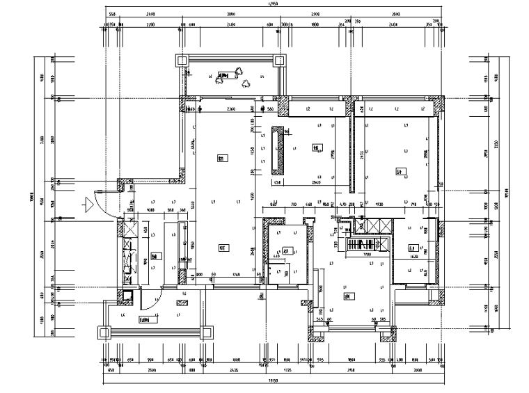 【四川】3套现代混合风格样板间设计案例_3