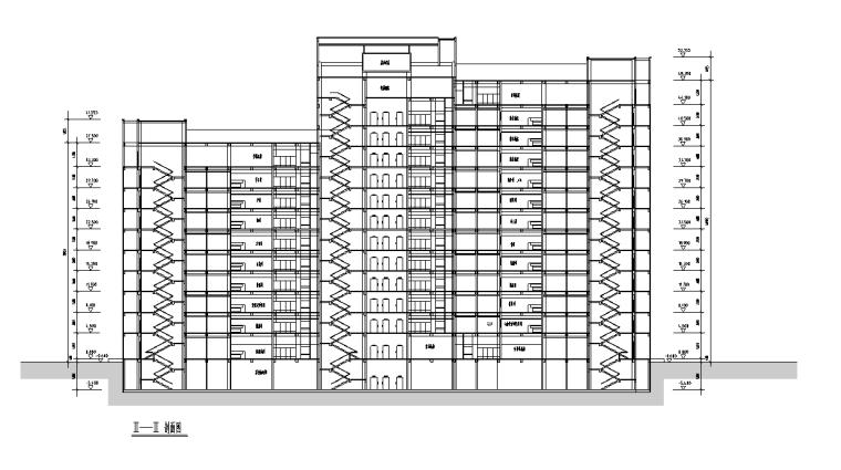 绍兴人民医院规划及建筑方案设计施工图(56张)_7