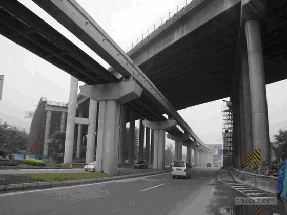 [广东]四座特大桥加固施工说明与全套CAD图(84张)