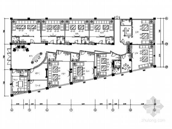 [福建]娱乐城豪华欧式风格KTV室内装修施工图(含效果)