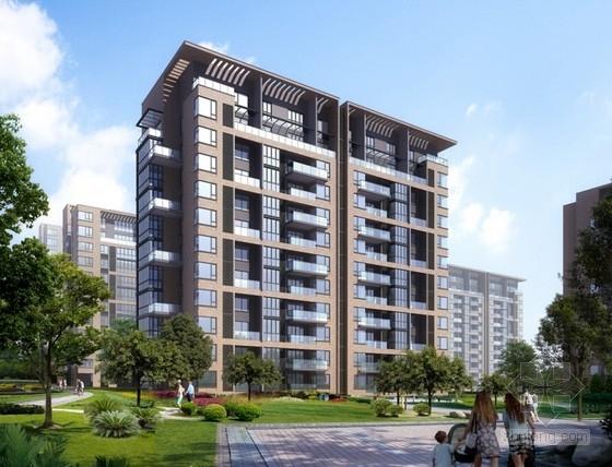 [山东]6700平12层高层住宅结构施工图(含建筑图)