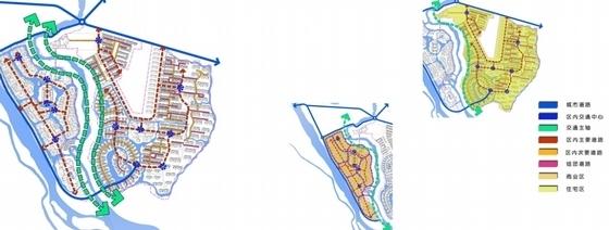 [广西]新中式风格自然生态旅游休闲度假区规划设计方案文本-新中式风格自然生态旅游休闲度假区分析图