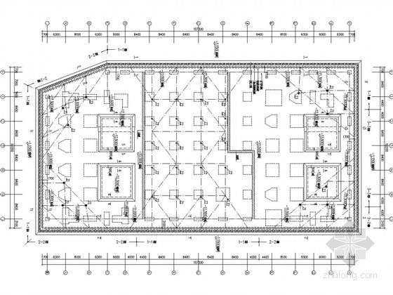 [浙江]合作社基坑围护结构及内支撑体系施工设计图纸