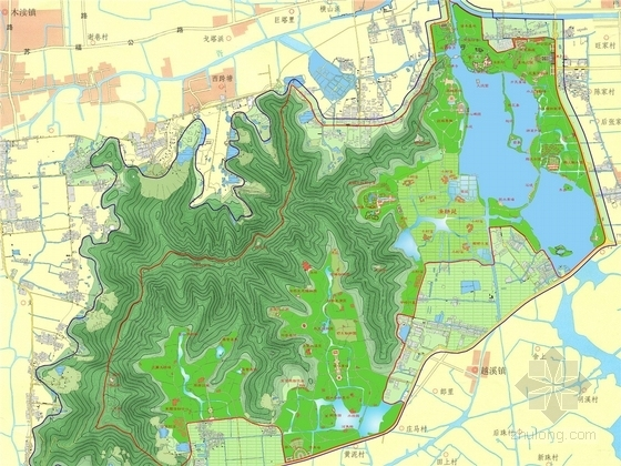 [苏州]著名滨湖旅游景区总体规划方案