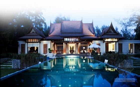 茶禅文化主题建筑设计方案效果图