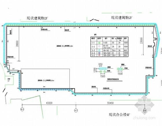 [北京]26米深基坑桩锚支护设计方案(附勘察报告及设计图 知名专家设计)