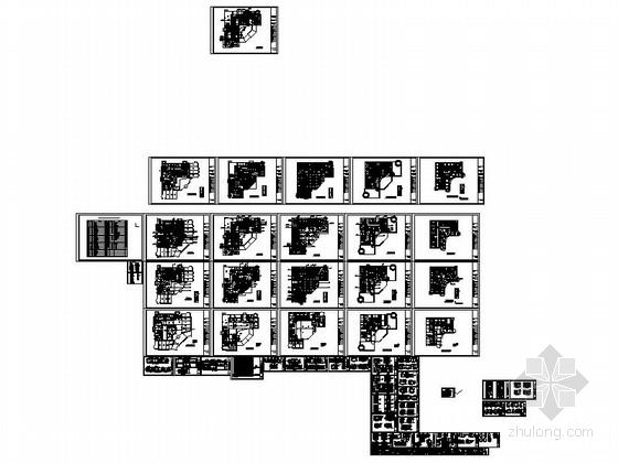 [江西]华贵欧式风格四星级标准酒店室内装修施工图缩略图