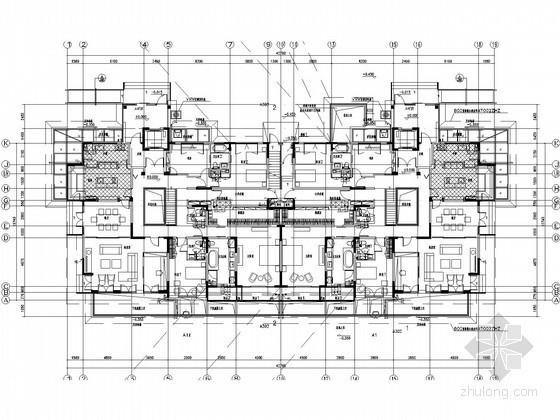 [上海]30栋商品住宅楼群给排水施工图纸(同层排水 压力排水)