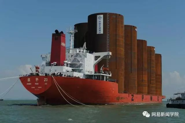 用钢圆管筑岛,港珠澳大桥人工岛这方案完胜日本|了不起的中国_9