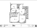 北京荣尊堡现代风格室内设计施工图纸