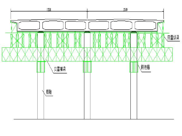 五里亭武江大桥、大旺大桥、码头栈桥施工组织设计(共三座桥256页)