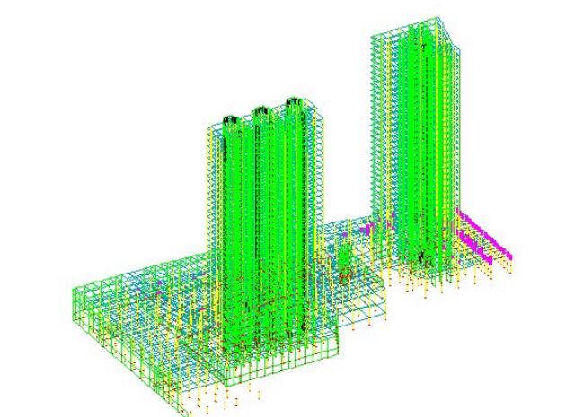 地下室地下一层楼板嵌固端影响分析_1