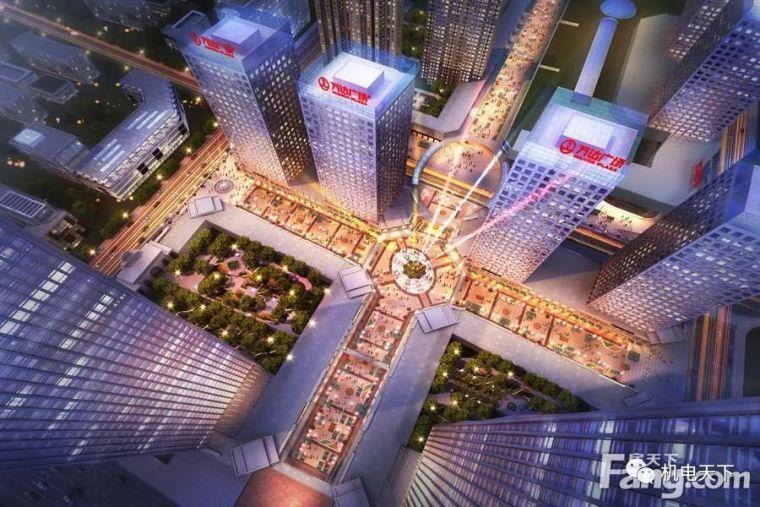 案例赏析| 西宁海湖万达广场(五星级酒店)的空调设计