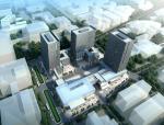 [广东]高层上大下小现代市级档案馆建筑设计(含多媒体及造价)