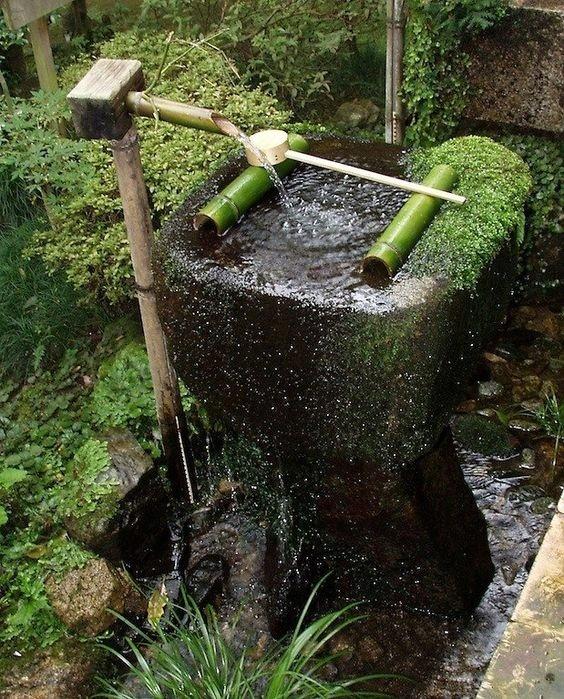 日式水钵静心的美