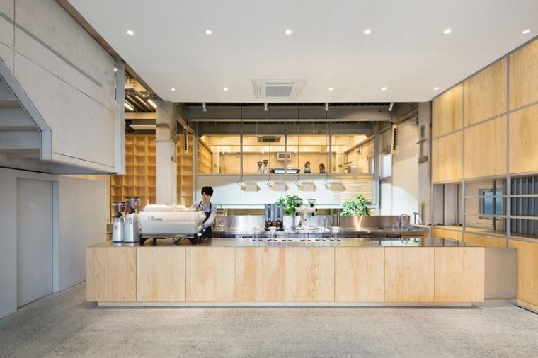 由小型发电厂改造成的连锁咖啡厅