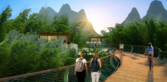 [广西]桂林风情古镇老街乡村景观设计方案(赠项目lumion动画)-效果图18