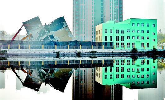 竣工后审批未通过 武汉5层养老公寓没启用就被拆