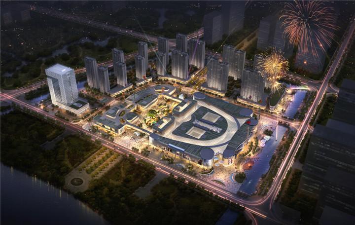 [浙江]山水流金商业广场景观设计方案