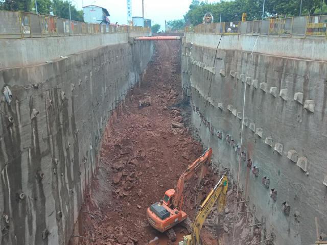 含4层换乘车站移动模架现浇高架桥暗挖区间隧道轻轨工程项目资料全套(施组方案图纸交底)