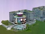 [上海]L型和圆形塔结构商务核心广场结构施工图(CAD和PDF格式)