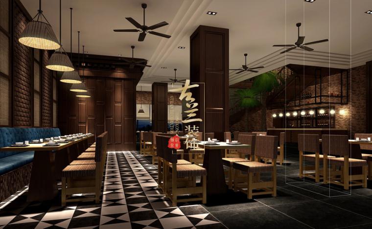 璟府小厨餐厅-成都主题餐厅设计-古兰装饰_5