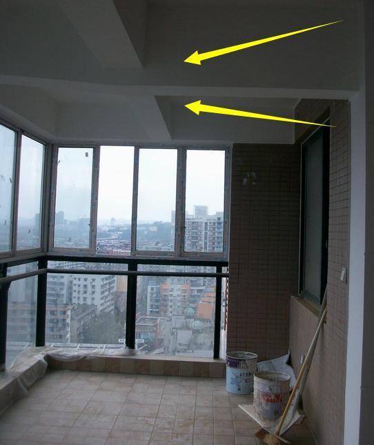 实际上阳台是的方式是分为两种的,一种是挑粱式,一种是挑板式,主要的图片