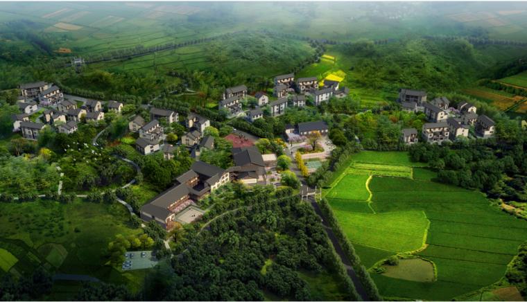 [重庆]山城美丽中式村庄改造规划方案文本