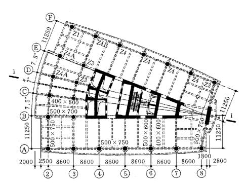 广州合银广场结构设计