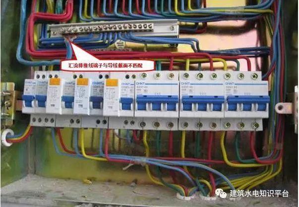 建筑电气工程施工质量通病和解决方法(现场施工图片解说)_27