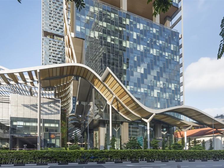 新加坡南海滩综合大厦