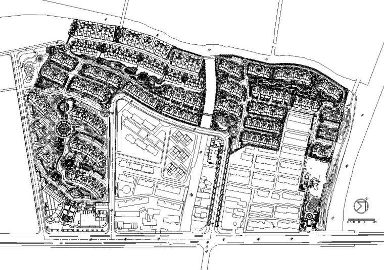 [上海]金地格林春岸全套景观设计施工图(绿化CAD)