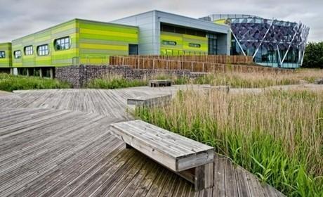 英国诺丁汉科技园景观设计