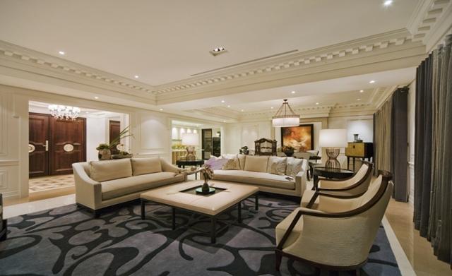 东方鼎盛御府-174平米-三室两厅-欧式风格设计图