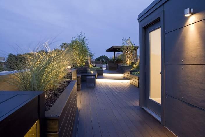 美国雕塑屋顶花园
