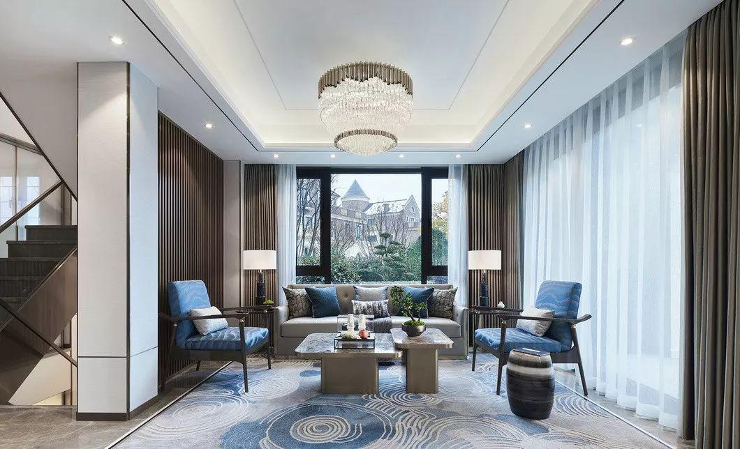273㎡新中式别墅,竟然可以这么美!_2