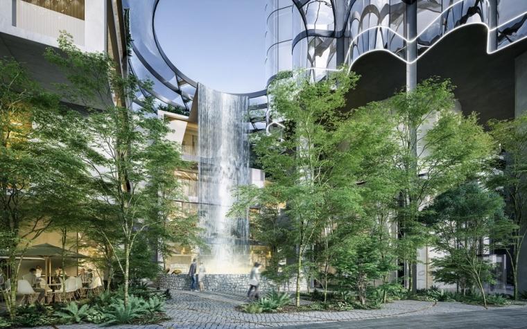 Federal街65号——模拟自然景观的摩天大楼_6