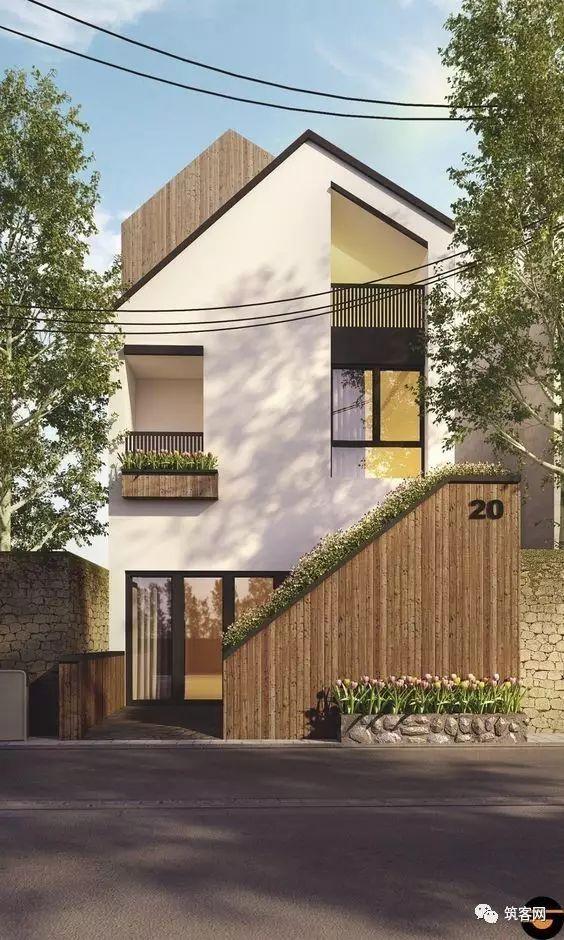 40款·简洁的现代别墅设计_15