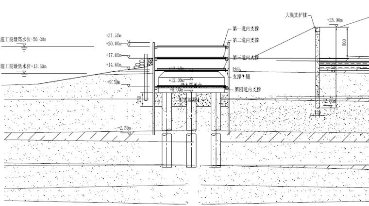 41米桥宽深埋大直径桩基顶推法钢梁自锚式悬索桥综合施工技术总结121页_8