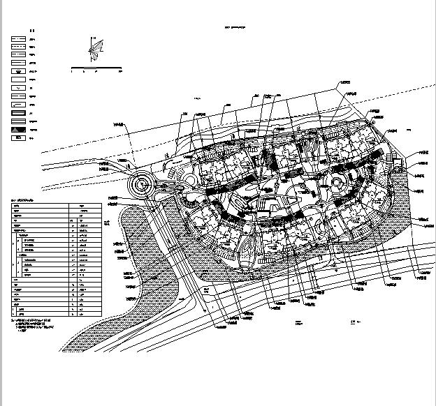 [海南]高层全专业审图后住宅建筑施工图(含全专业及车库)_4