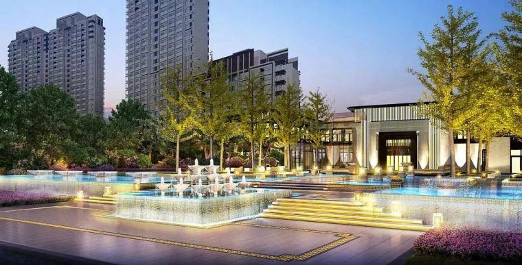 比德山水铸就精品新亚洲项目---苏州正荣盛泽正荣府项目景观设计方