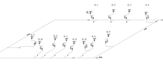 UPVC雨水管施工资料下载-某外语学院食堂浴室给排水设计图